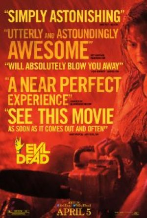 Movie just won't die: 'Evil Dead' reboot a hit in theaters