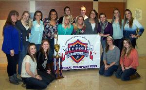Dancing Blues win national championship
