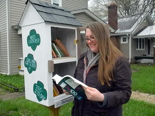 Little Free Libraries spread literacy and more