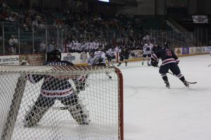 Texas takes game one of NAHL South Division semifinals, 2-1