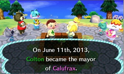 Animal Crossing: New Leaf came out for the Nintendo 3DS June 9. In this version there are many updates and you are the mayor of your city.
