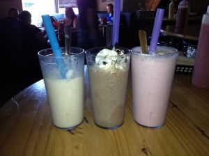 The Burger Stand's milkshake review