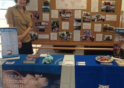Semester at Sea is a study abroad program featured at the Activities, Majors and Study Abroad Fair.