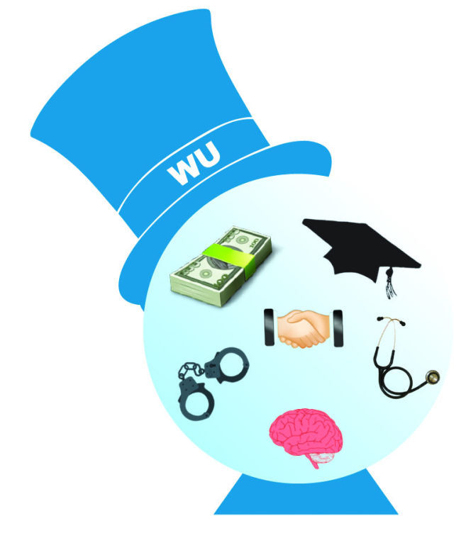 Hats off to WU's top majors