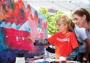Art, food and fun at Aaron Douglas Art Park