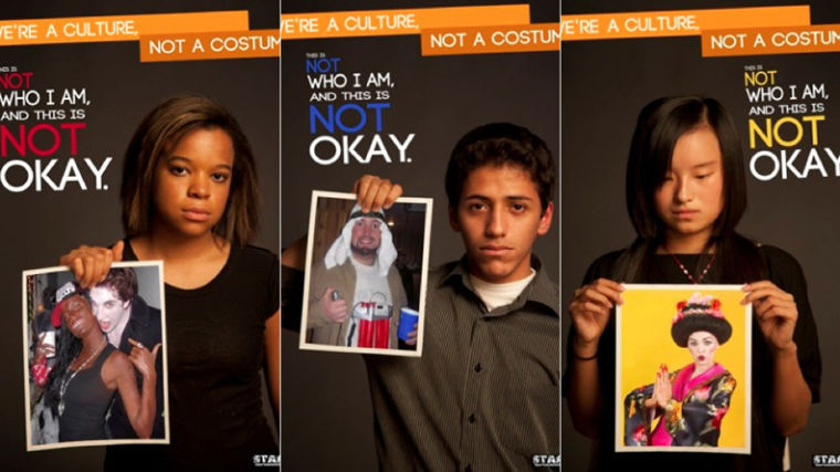 "An Ohio University organization, STARS (students teaching against racism) is raising awareness for racial slurs in Halloween costumes. Their slogan ""We're a culture, not a costume."" is trying to convince students to avoid costumes that could be misconstrued as a stereotype, and instead make their own humorous costumes."