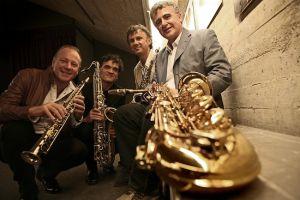 Topeka Community Concert Association presents Italian Saxophone Quartet