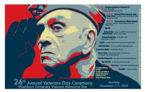 Veterans Day Ceremony to be held at Washburn University
