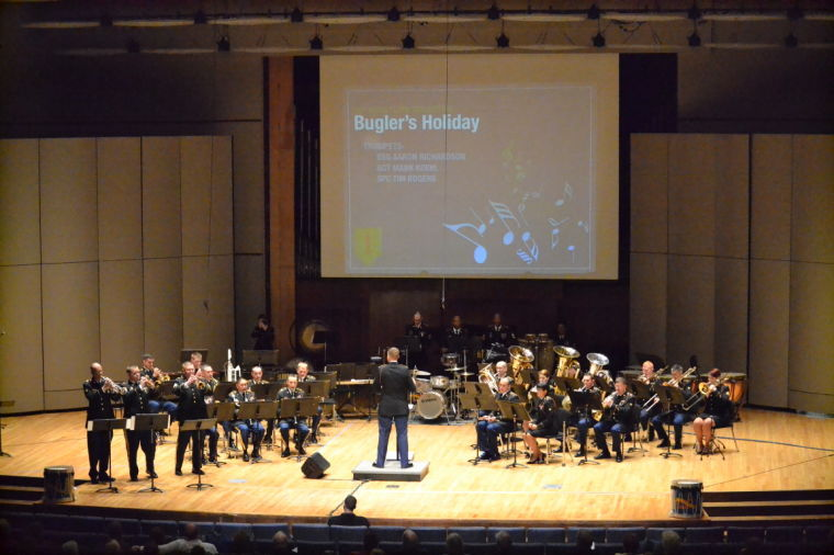 1st+Infantry+Division+Band+Performs+at+White+Concert+Hall
