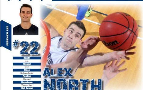Alex North's versatility allows him to make an impact in every game even if he isn't scoring at his normal rate of 15 points per game. After breaking his career high for rebounds in his last game against Northeastern State pulling down 20 points, he now averages 9.6 per game.