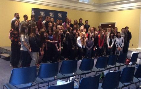 Students in the FYE program at Washburn attended a ceremony where awards were given to students who went above and beyond. The ceremony marked the completion of the programs's first generation of students.