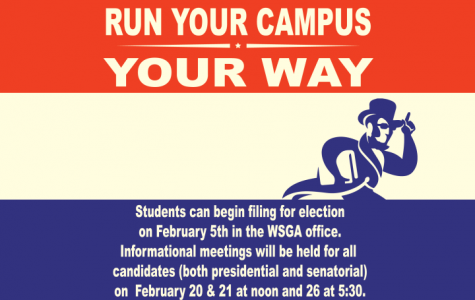 Any Washburn student that is interested in becoming involved should stop by the Student Activities and Greek Life office or by the WSGA office. Both are located in the lower level of the union. All students are encouraged to vote for candidates that will advocate for them or to get involved.