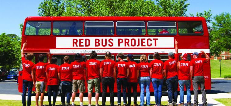 The Red Bus Project, founded by Steven Curtis Chapman, is visiting Washburn during the week after spring break. The red bus has been converted into a thrist store and all proceeds benefit orphans around the world.