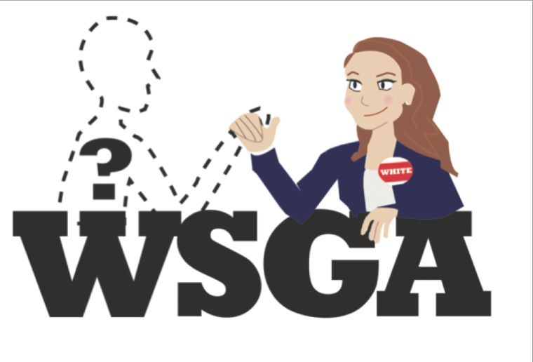 Cassie White and Randi McAfee had originally planned on serving on WSGA during their senior year as senators. They made a last minute decision and decided to run for office together the first week of February, announcing the decision as soon as filing for candidacy opened. No other students filed.
