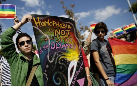 In reality, Russia serves as a dark mirror for the United States. As Putin signed legislation that discriminates against homosexuals in Russia, a bill was drafted in Kansas that would allow discrimination against homosexuals on a religious basis.