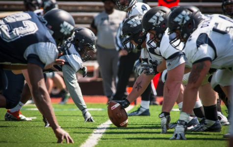 Washburn held its annual blue and white scrimmage game at Yager Stadium Saturday. The Bods have great potential for the upcoming season.