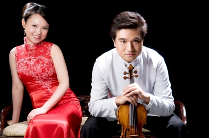 Husband and wife duo Yang and Olivia Liu will perform the violin and piano at White Concert Hall on the Washburn campus Tuesday, April 14, at 7:30 p.m. Students are free with their Washburn I.D.