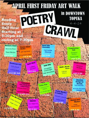 Downtown hosts Poetry Crawl