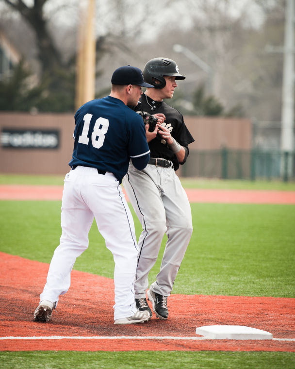 Washburn+baseball+was+defined+by+their+conservative+base+running+against+Emporia+State.+The+bods+lost+in+a+close+3-5+game+April+6.