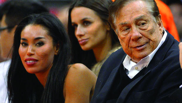 Sterling%2C+the+owner+of+Los+angeles+Clippers%2C+is+banned+for+life+from+NBA+because+of+his+racist+remarks.+He+was+also+fined+%242.5+million.