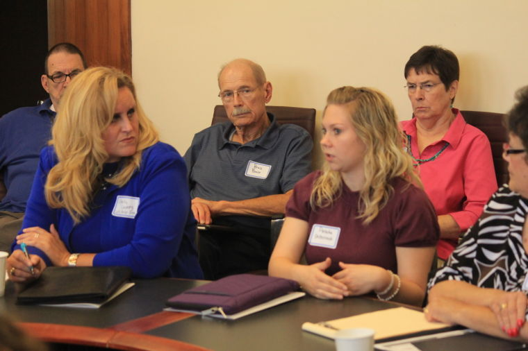 TCCOP participants discuss mental health programs in Topeka.