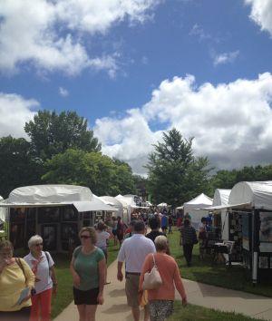 Washburn hosts 22nd annual Mulvane Art Fair
