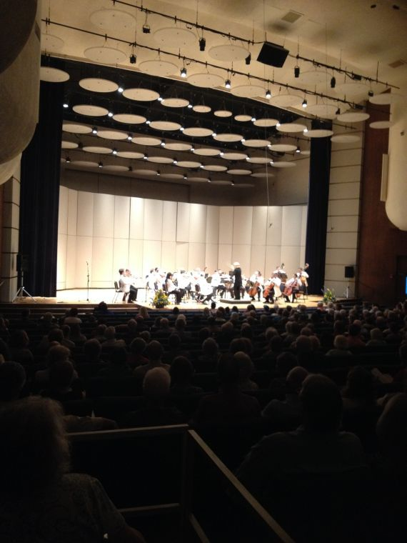 The first concert played Friday night, June 6, to a near-full house.
