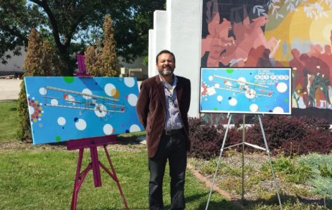 Jaime Colon was chosen as the featured artist for the 2014 Aaron Douglas Art Fair. Colon was introduced at a press conference in front of the mural at the Aaron Douglas Art Park.