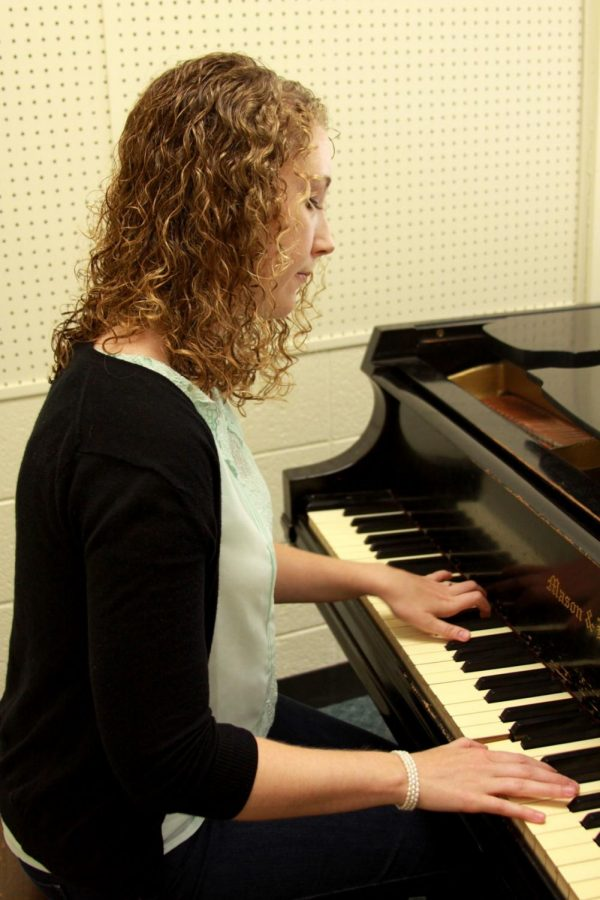 Caitlin Ediger is turning her love of music into a promising career.
