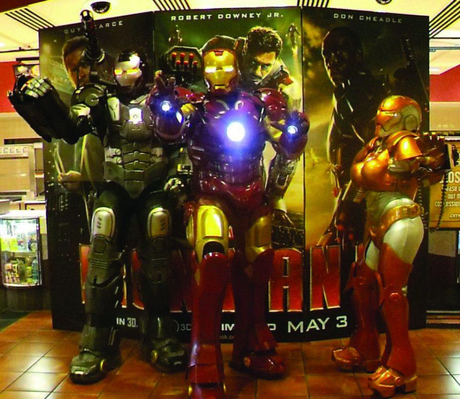 The Iron Bots of Topeka bring comicbook action to life with custom-made Iron Man suits. TheIBOTs will appear this weekend at TOPCON, Topeka's firstcomic convention.