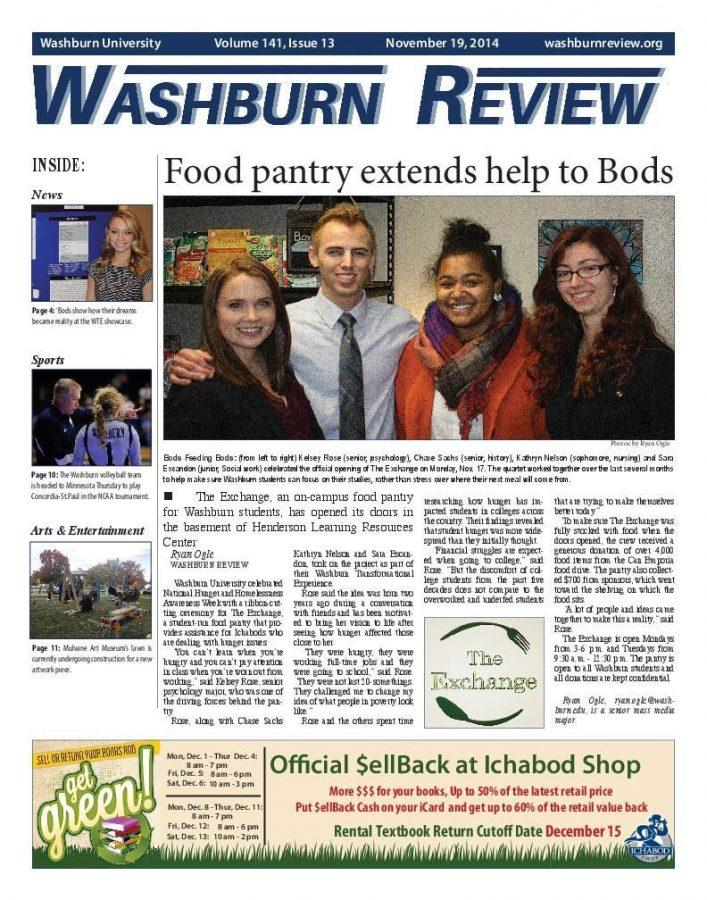 ARCHIVES: 2014-15 Review Newspaper Archives