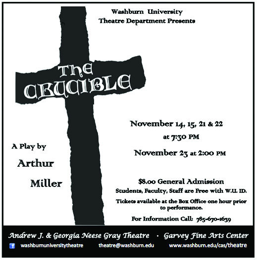 Salem Witch Trials come to bewitch Washburn's stage