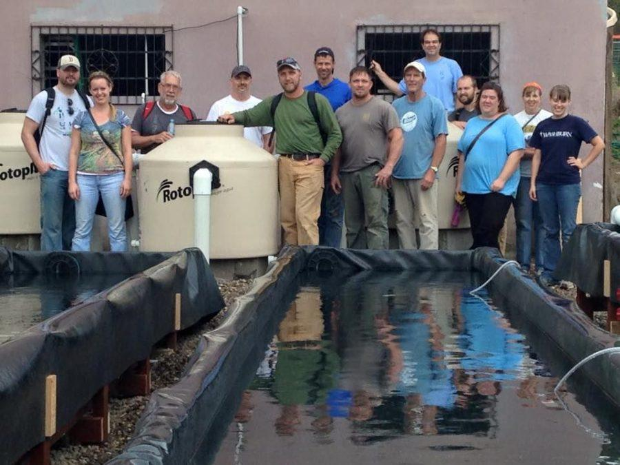 Team+completes+life-changing+Aquaponics+system