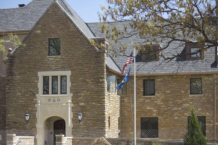 Washburn+University%27s+chapter+of+Phi+Theta+Delta+fraternity+is+under+investigation+after+sexually+explicit+texts%2C+photos+came+to+light.