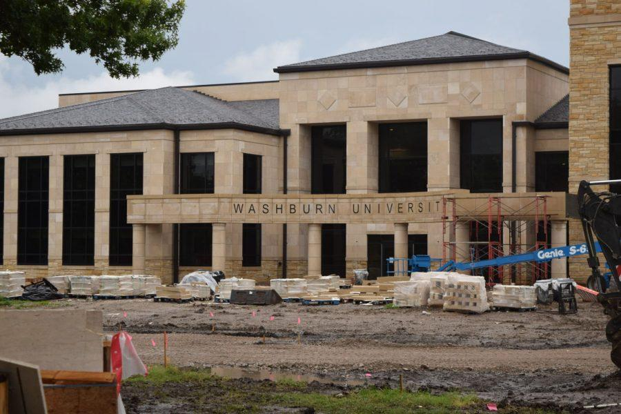 Renovation of Washburn University's Morgan Hall nears completion