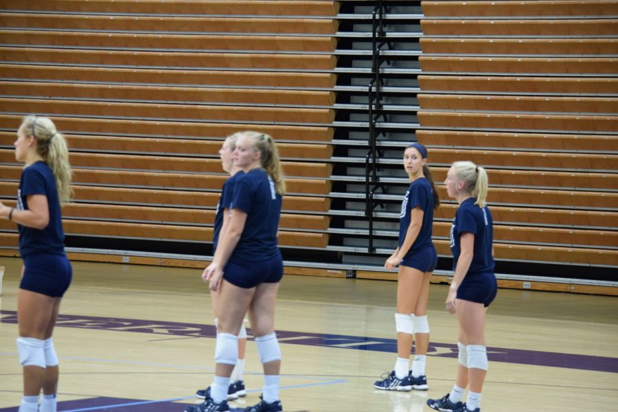 Volleyball team optimistic about fall season