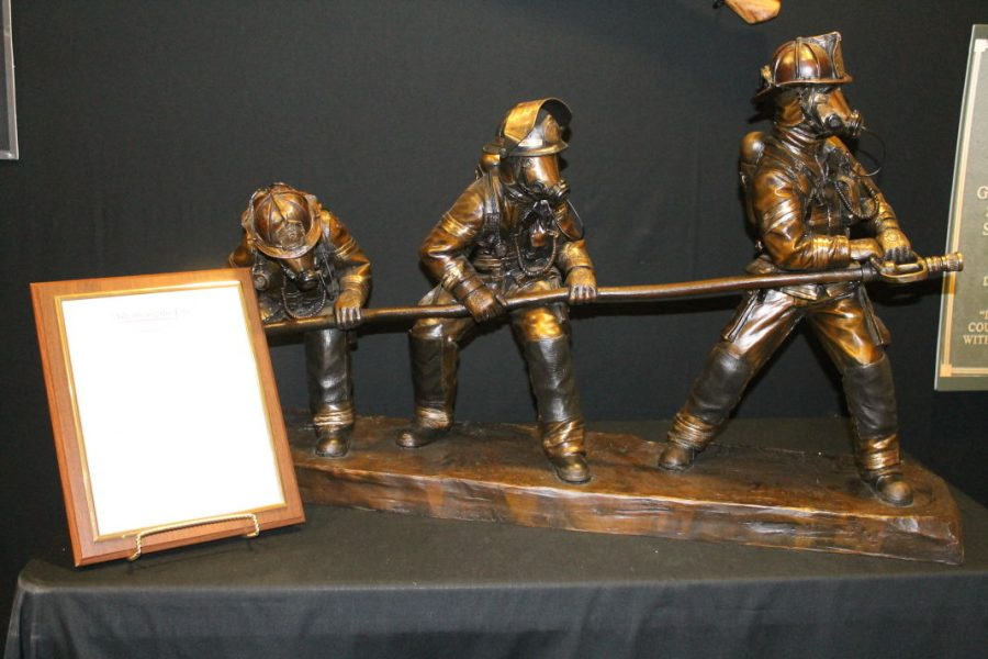 A+smaller+version+of+a+memorial+to+honor+all+firefighters+that+died+in+the+line+of+action+to+be+built+on+the+Topeka+Capital+campus.%C2%A0