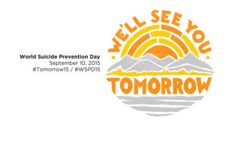 Start talking about suicide: Suicide Prevention Week 2015