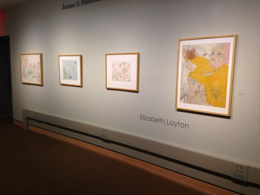 This collection of drawings by Elizabeth Layton depict some of the joy Elizabeth Layton found in aging.