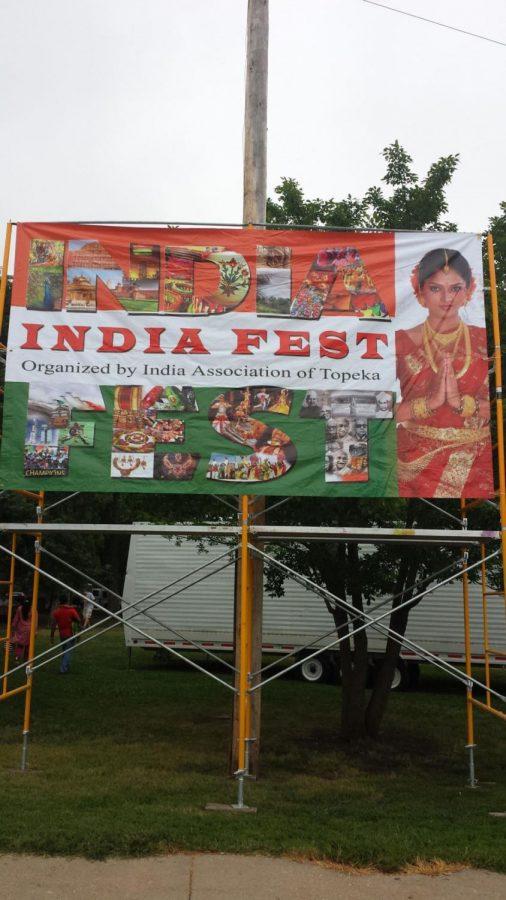 Billboard advertising India fest.