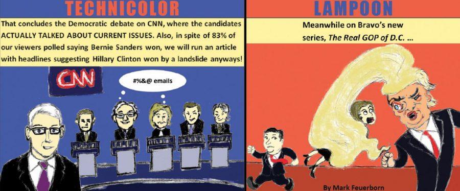 Mark Meets World: The Democratic debate: An actual debate