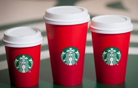 This holiday season, Starbucks is keeping it simple with red cups.