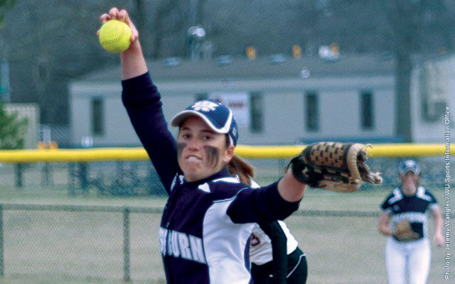 Pitcher Samantha Carson earned player of the week honors as she was 2-0 with a 0.91 ERA in four appearances over the weekend for the Ichabod softball team.