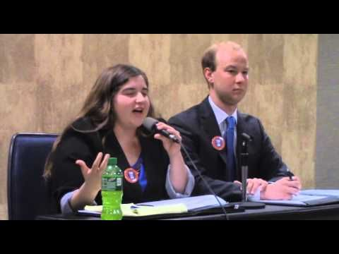 Washburn Student Media's 2016 WSGA Presidential and VP Debate