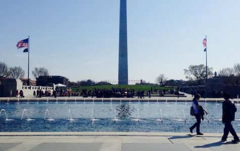 In the heart of the beast:While some Americans increasingly subscribe to a sense of moral absolutism, other Americans enjoy the relaxing views of the National Mall.