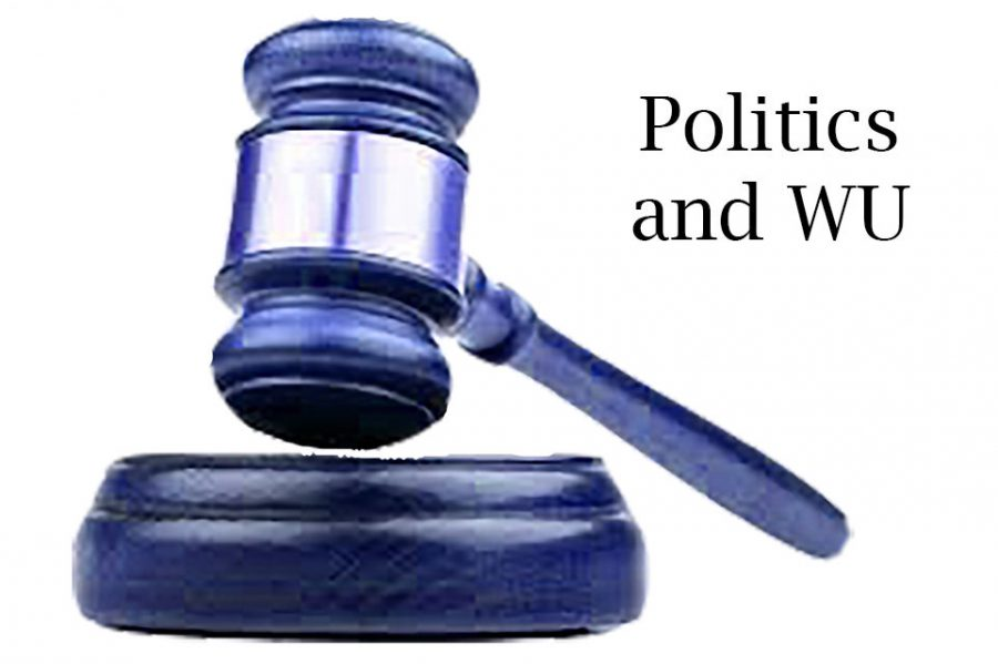 Gavel: Politics and laws effecting the students of Washburn University.