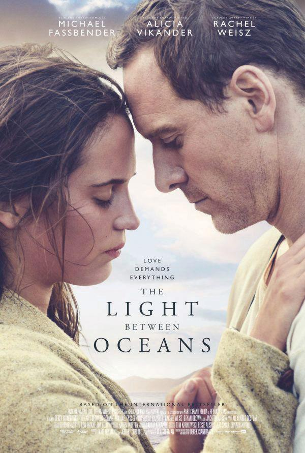 "Best-seller: ""The Light Between Oceans"" is based off of the well-received debut novel of M.L. Stedman. Lead actress Vikander has also made waves in recent years by starring in ""Ex Machina"" and ""The Danish Girl."""
