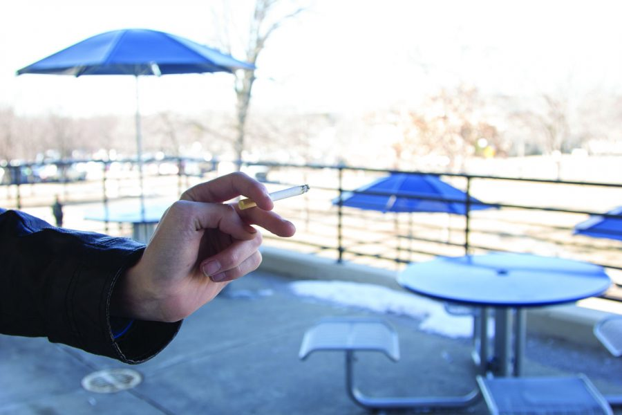 Student government aims to make campus smoke free