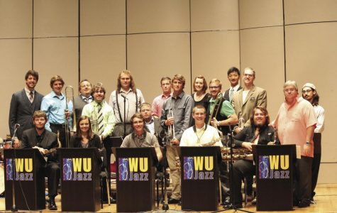 Aficionados:The Washburn University Jazz Orchestra is filled with both newcomers and familiar faces, but one thing is for sure. They've got style and they've got talent.