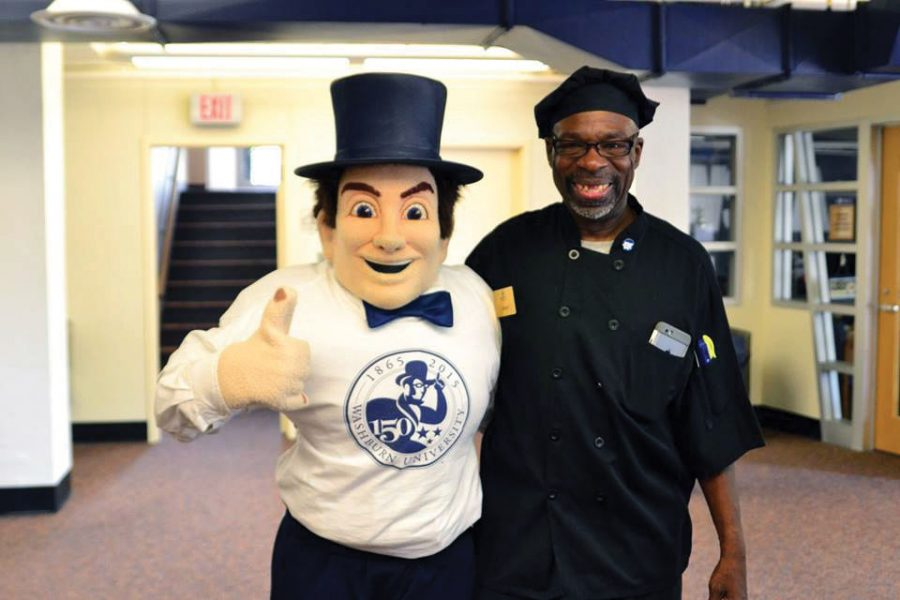 Mr. Blessed: Kenny Cann poses with Mr. Ichabod. Cann passed away on Monday, Nov. 14 in the company of his family and closest friends.
